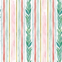 Tropical Fun Pattern V Fine Art Print