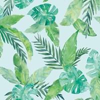 Tropical Fun Pattern VIII Fine Art Print