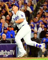Joc Pederson Home Run Game 6 of the 2017 World Series Fine Art Print
