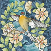 Arts and Crafts Bird IV Fine Art Print