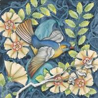 Arts and Crafts Bird III Fine Art Print