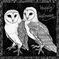 Arsenic and Old Lace Happy Halloween Fine Art Print