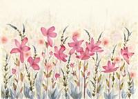 Watercolor Garden Fine Art Print