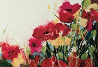 Poppies and Flowers Fine Art Print