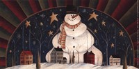 "Snowman Arch by David Harden - 7"" x 4"""