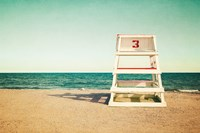 Lifeguard Station Fine Art Print