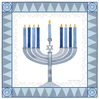 Celebrating Hanukkah III Fine Art Print