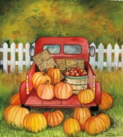 Pumpkins for Sale Fine Art Print