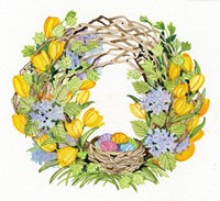 Spring Wreath II Fine Art Print