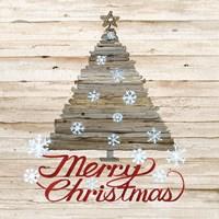 Holiday Sayings V on Wood Fine Art Print