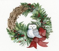 Holiday Wreath II Fine Art Print