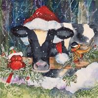 Winter Cow Fine Art Print