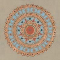 Copper Mandala II Fine Art Print