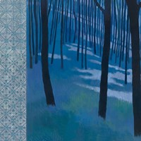 Blue Path to the Edge of the Woods Fine Art Print