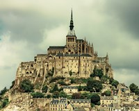 Mont St. Michel Fine Art Print