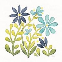Garden Getaway Flowers II Fine Art Print
