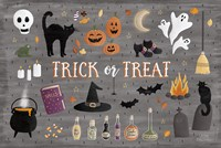 Haunted Halloween III Fine Art Print