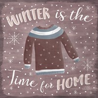 Cozy Winter V Fine Art Print