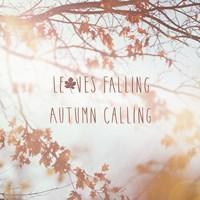 Autumn Calling I Fine Art Print