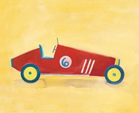 Race Car 6 Crop Fine Art Print