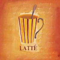 Latte Fine Art Print