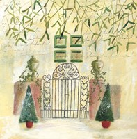 Holiday Gate Fine Art Print