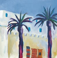 Palm Trees and Rugs Fine Art Print