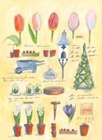 Spring Collage Fine Art Print