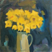 Narcissi and Jug Fine Art Print