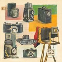 Cameras Fine Art Print