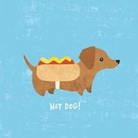 Good Dogs Dachshound Fine Art Print