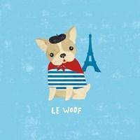 Good Dogs French Buldog Fine Art Print