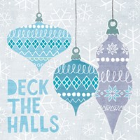 Deck The Halls III Framed Print