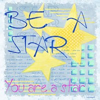 Be a Star Framed Print