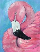 Pink Flamingo Fine Art Print