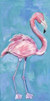 Pink Flaming II Framed Print
