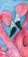Pink Flaming III Fine Art Print