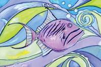 Surfin' Fish Fine Art Print
