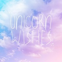 Unicorn Wishes Fine Art Print