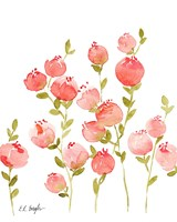 Peach Flowers Fine Art Print