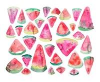 Watermelons 300 Fine Art Print