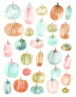 Light Pumpkins 300 Fine Art Print