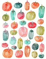 Bright Pumpkins 300 Fine Art Print