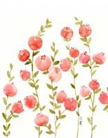 Peach Olive Fine Art Print