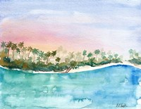 Tropical Landscape Fine Art Print
