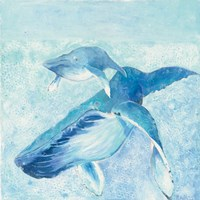Blue Mama Fine Art Print