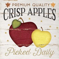 Crisp Apples Fine Art Print