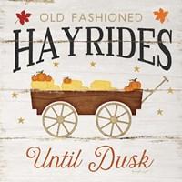 Hayrides Fine Art Print