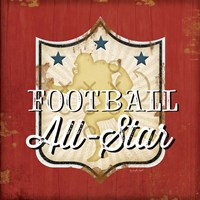Football III Fine Art Print