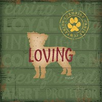 Loving Dog Fine Art Print
